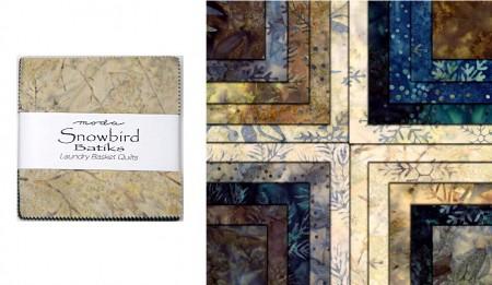 "Snowbird Batiks 5"" Charm Pack-0"