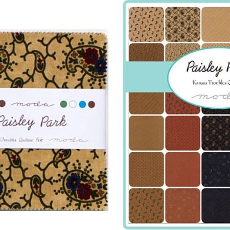 "Paisley Park 5"" Charm Pack-0"
