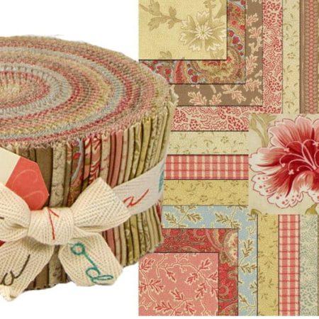 Autumn Lily Moda Jelly Roll-0