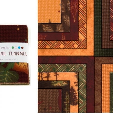 "Timber Trail Flannels 5"" Charm Pack-0"