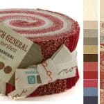 French General Favorites Moda Jelly Roll-0