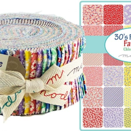 30s Playtime Favorites Moda Jelly Roll-0