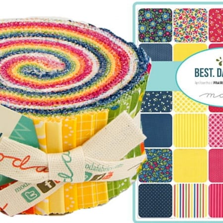 Best Day Ever Moda Jelly Roll-0