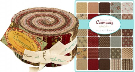 Collections Community Moda Jelly Roll-0