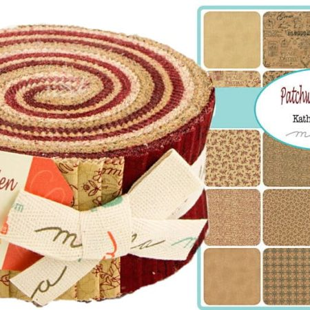 Patchwork Garden Moda Jelly Roll-0