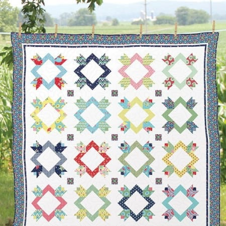 Petal Pushers Quilt Kit-0