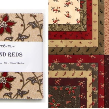 "Richmond Reds 5"" Charm Pack-0"