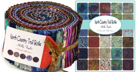 North Country Batiks Moda Jelly Roll-0