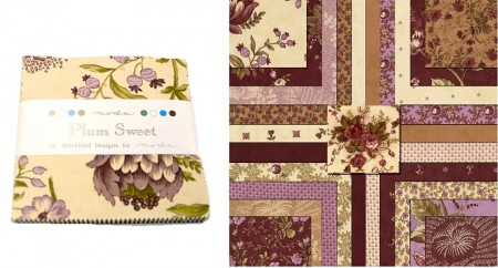 "Plum Sweet 5"" Charm Pack-0"