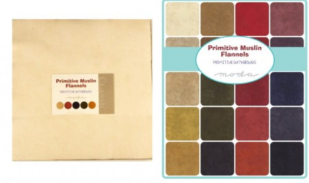 Primitive Muslin Flannel Layer Cakes-0