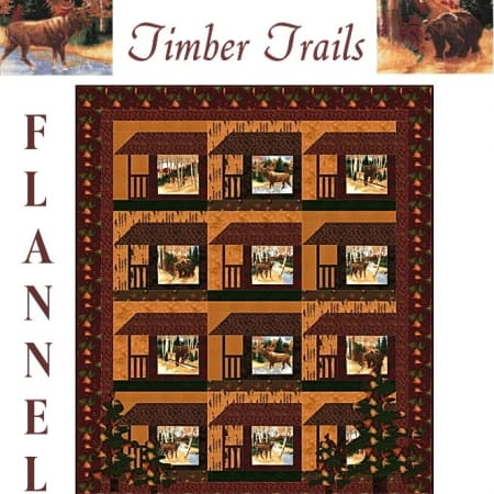 Timber Trail Quilt Kit-0