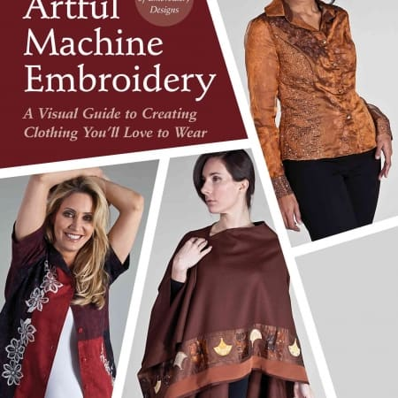 Machine Embroidery Book CD Bobbi Bullard-0