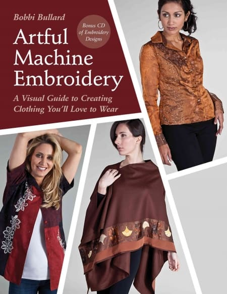 Machine Embroidery Book CD Bobbi Bullard-0