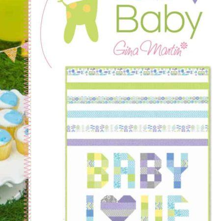 Baby Love Quilt Pattern-0