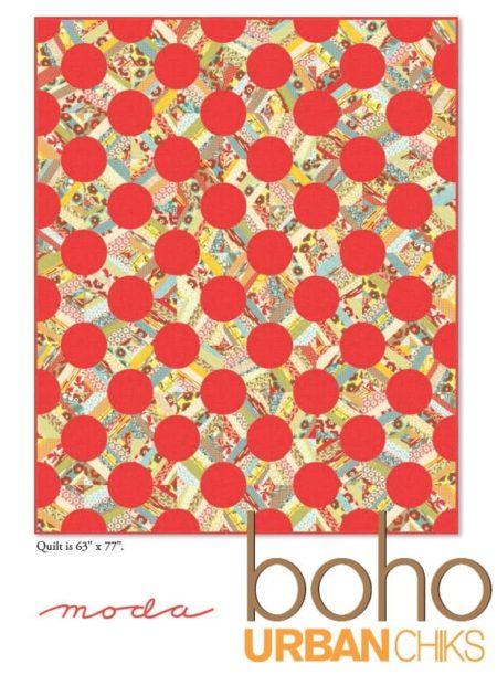 Boho Quilt Pattern-0