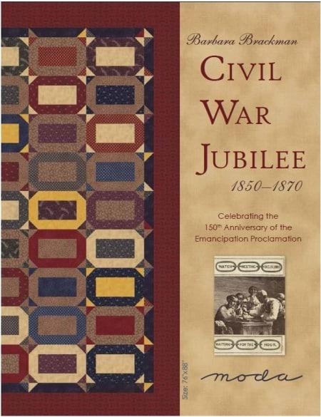 Civil War Jubilee Quilt Pattern-0