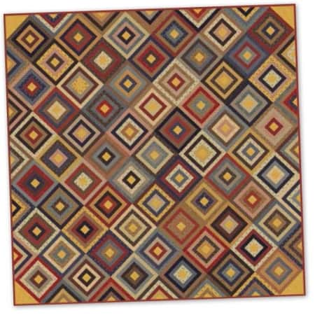 Historical Blenders Quilt Pattern-0
