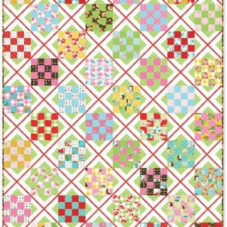Glamping Quilt Pattern-0