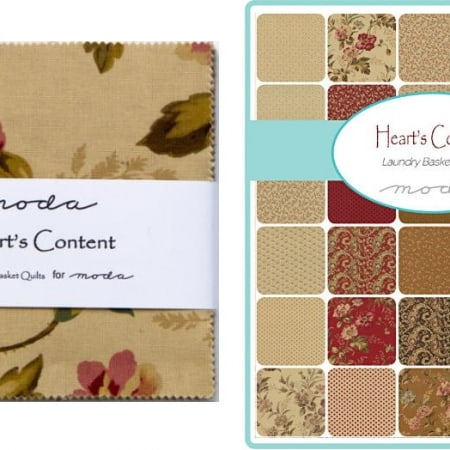 "Hearts Content 5"" Charm Pack-0"