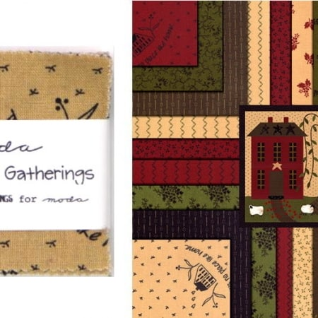 "Homestead Gatherings 5"" Charm Pack-0"