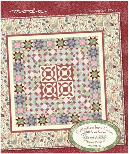 Collections Mill Book Circa 1835 Quilt Pattern-0