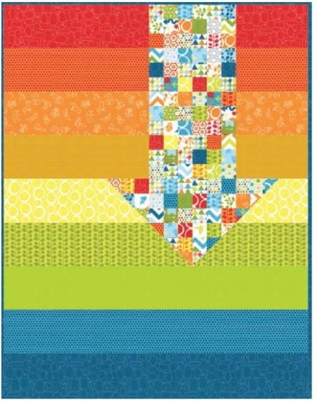 Mixed Bag Quilt Pattern-0
