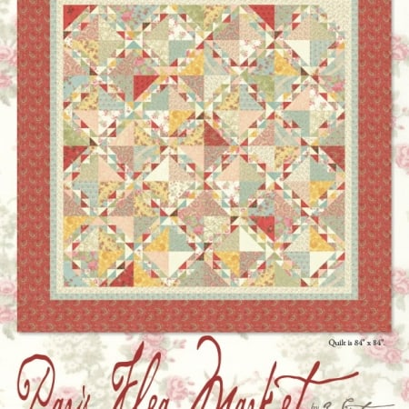 Paris Flea Market Quilt Pattern-0