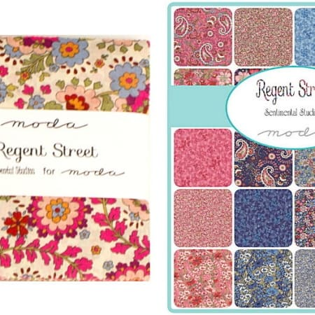 "Regent Street Lawns 5"" Charm Pack-0"