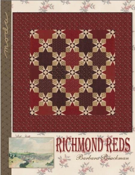 Richmond Reds Quilt Pattern-0