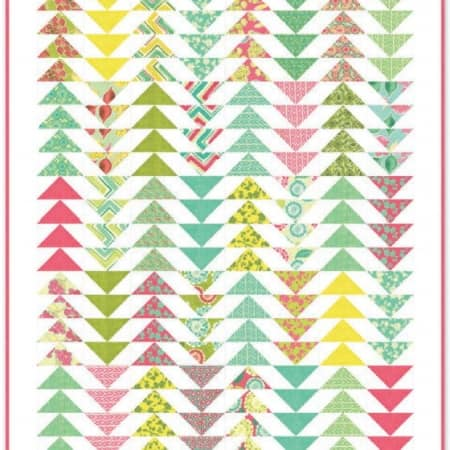 Spring House Quilt Pattern-0
