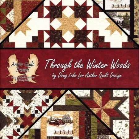 Through the Winter Woods Book-0