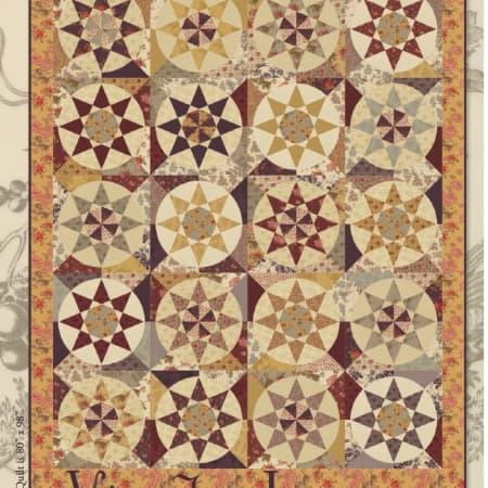 Vin du Jour Quilt Pattern-0