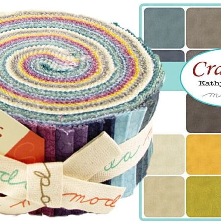 Crackle Moda Jelly Roll-0