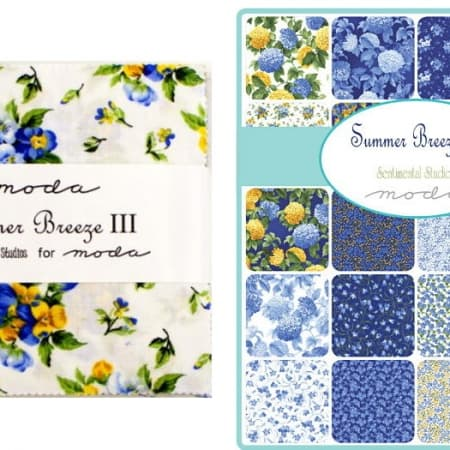 "Summer Breeze III 5"" Charm Pack-0"