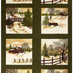 Through The Winter Woods Panel - Gr-0