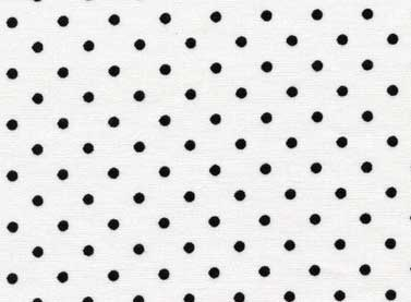Friendship Tea - 23068 White/Blk Dots-0
