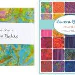 """Aurora Batiks 5"""" Charm Pack-0"""