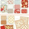 "Butterscotch and Roses 2.5"" Charm Pack -17419"