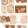 "Butterscotch and Roses 2.5"" Charm Pack -17421"