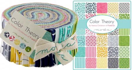 Color Theory Moda Jelly Roll-0