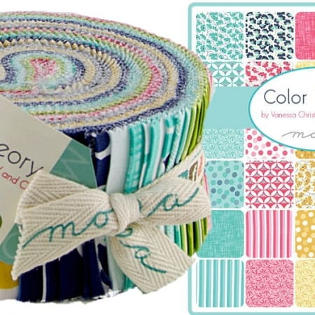 Color Theory Moda Jelly Roll-0