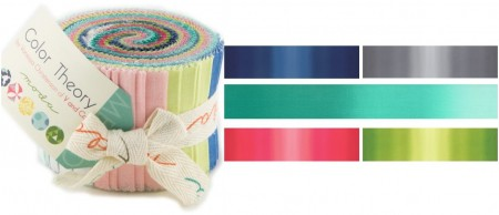 Color Theory Moda Ombre Junior Jelly Roll-0