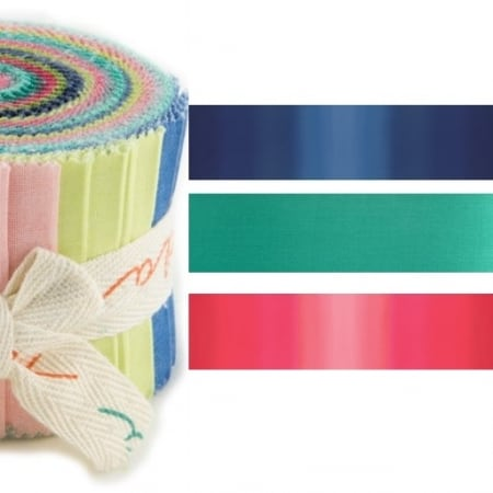 Color Theory Moda Ombre Junior Jelly Roll-0