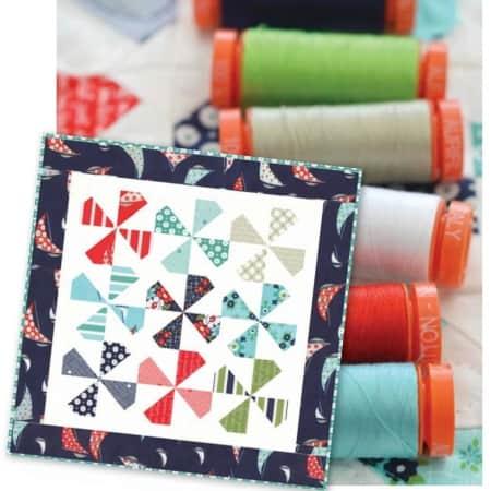 Daysail Quilt Kit + Aurifil Thread Set-0
