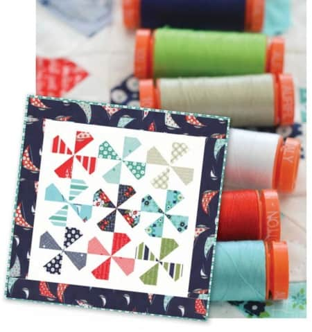 Daysail Quilt Kit + Aurifil Thread Set-0