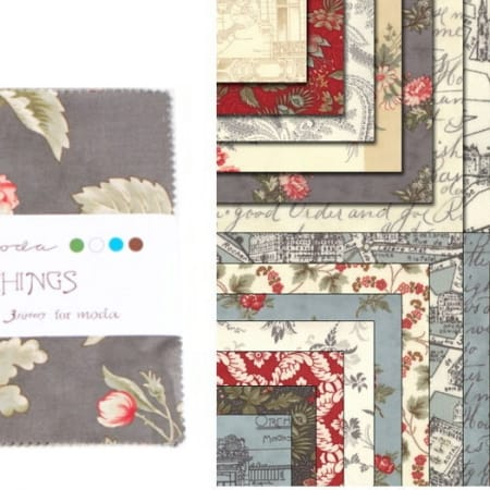 """Etchings 2.5"""" Charm Pack -0"""
