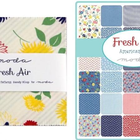 """Fresh Air 5"""" Charm Pack-0"""