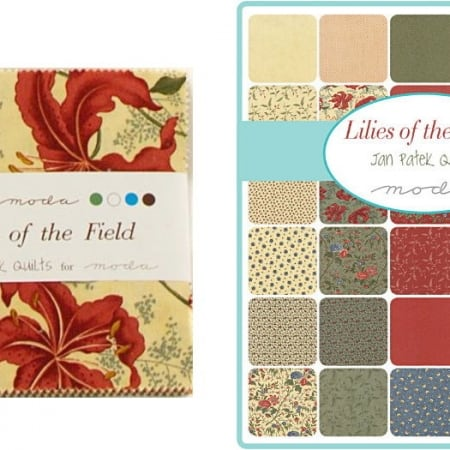"Lilies of the Field 5"" Charm Pack-0"