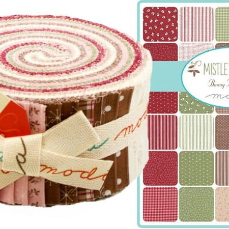 Mistletoe Lane Moda Jelly Roll-0