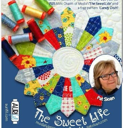 Sweet Life Quilt Kit + Aurifil Thread Set-0
